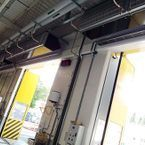 IndAC2 air curtains for perfect separation between interior and exterior climates