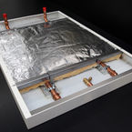 Heat wave radiant panel of Biddle