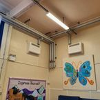 School fitted with Forceflow Fan convector